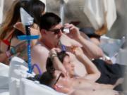 有图有真相,库尔图瓦海滩度假吸水烟
