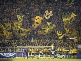德甲本赛季平均上座人数排名:多特超8万居首