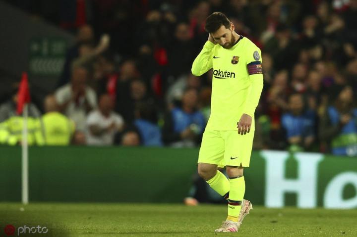 世体:梅西计划再拿一次欧冠和国家队奖杯就退役