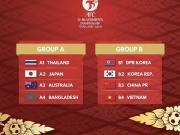 U16女足亚少赛分组结果出炉:中越韩朝4队同组