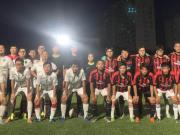 懂球帝FC4-3北语人文足球队,朴教练和小崔双双世界波破门