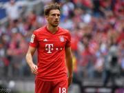 拜仁官方:由于肌肉伤势,格雷茨卡缺席德国杯决赛