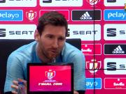 梅西:还没从欧冠出局的沮丧中走出来;希望巴尔韦德留任