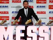 梅西将连续三个赛季斩获欧洲金靴,生涯第六次加冕欧洲射手王