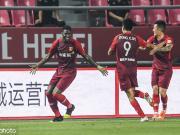 河北落后两球3-2逆转江苏,董学升双响,李昂直接任意球破门
