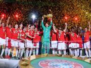 德国杯决赛赛后评分:诺伊尔、基米希和莱万满分