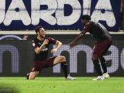 米兰客场3-2斯帕尔,凯西两射一传建功,多纳鲁马伤退