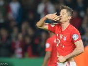 踢球者德甲下半程前锋评级:世界级空缺,莱万领衔洲际级