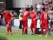 拜仁熱身賽1-1凱澤斯勞滕,里貝里登場迎最后告別,萊萬破門