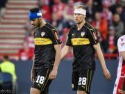 斯圖加特0-0客平柏林聯合,總比分2-2因客場進球劣勢降入德乙