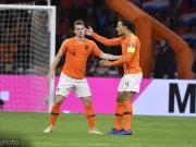 荷兰23人大名单出炉:范戴克、德容、德利赫特领
