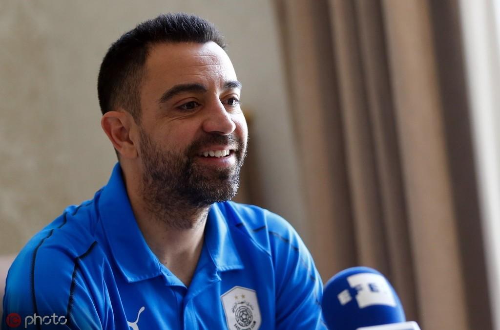 官方:哈维下赛季起担任卡塔尔萨德队主教练