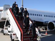 图集:蓄势待发,热刺全队昨日抵达马德里
