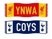 欧冠终局之战!支持热刺或利物浦的球迷,来领你的围巾挂件吧