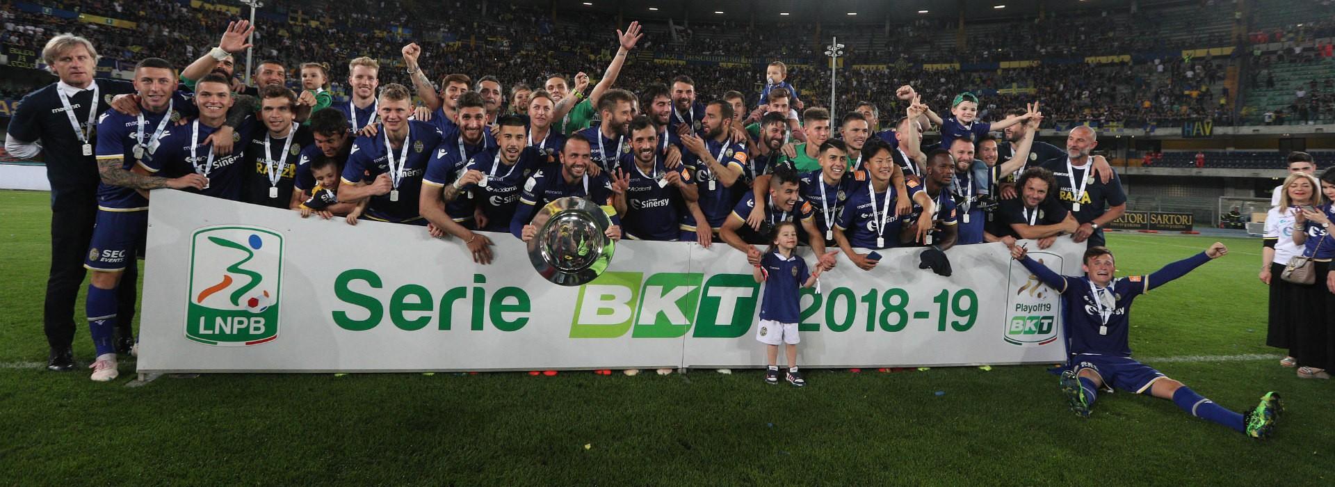 拿到升级附加赛冠军,维罗纳回到意甲联赛 — 奇塔代拉