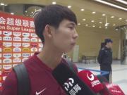 杨世元:这几场逐渐找到了感觉,踢恒大会有针
