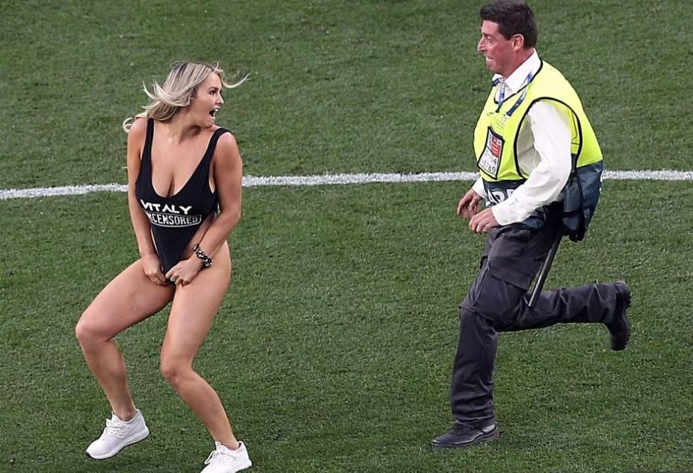 还有意外收获,闯入欧冠决赛的女球迷获赠一张VIP球票