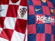 克罗地亚官推:巴萨这件新球衣,拉基蒂奇一定