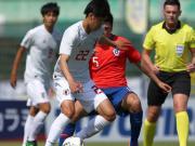 土倫杯A組:日本U22 6-1狂勝智利U22,旗手憐央戴帽
