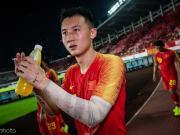 冯劲:感谢主教练给了我国足上场的首秀机会