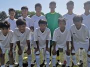 中国U13选拔队热身赛取得开门红,4-0完胜萨格勒