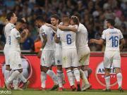 意大利3-0希腊稳居第一,因西涅巧射破门+失单刀