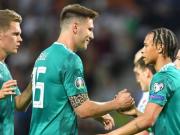 德国2-0白罗斯升至小组第2,萨内、罗伊斯建功,