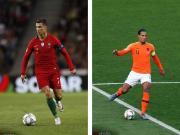 歐國聯葡萄牙荷蘭爭冠,C羅范戴克本賽季超強數據總結