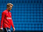 挪威媒体:厄德高已经抵达德国,可能与勒沃库森签约