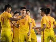 U20国足4-2再胜巴勒斯坦U20,陶强龙造三球,郭田