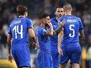 意大利2-1逆转波黑,因西涅世界波+助攻维拉蒂绝
