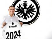 官方:法兰克福签下约维奇替代者约维尔季奇