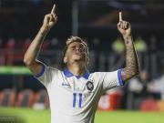 核心!巴西近三届大赛首粒进球皆由库蒂尼奥打进