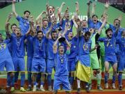 乌克兰3-1韩国首夺世青赛冠军,乌球员长途奔袭