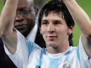 上次在U20世界杯获得金球奖的18岁球员:梅西