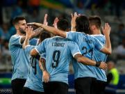 1967年以后,乌拉圭首次在美洲杯取得四球大胜