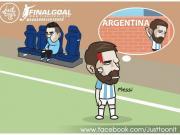 国外也有段子手:留给阿根廷的时间不多了...