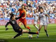 中国女足顶住西班牙猛攻0-0晋级十六强,彭诗梦
