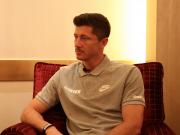 懂球帝专访莱万:德甲的竞争力在上升;能赢得欧冠会很幸福