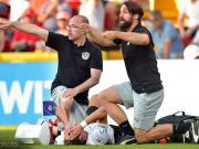 惨!莱比锡新援沃尔夫在欧青赛进球后遭遇断腿