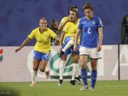 巴西女足1-0意大利女足两队携手出线,玛塔打入世界杯第17球