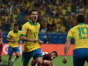 险些完成绝杀,库蒂尼奥当选巴西vs委内瑞拉全场最佳球员