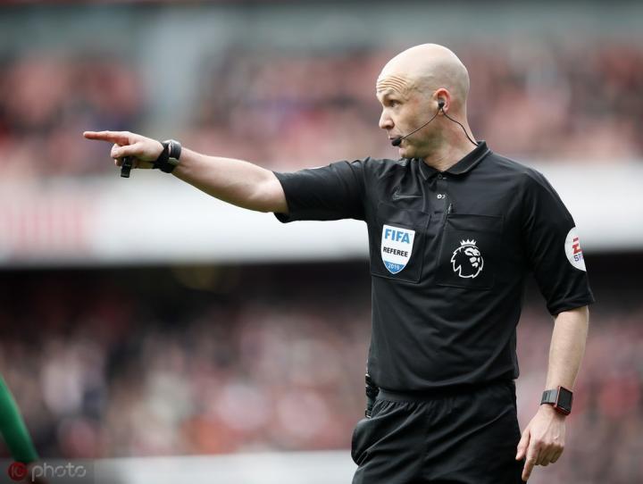 英超第3轮裁判安排:安东尼-泰勒吹罚利物浦vs阿森纳榜首战