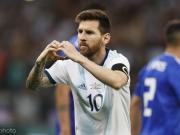 阿根廷1-1巴拉圭仍小组垫底,梅西点射,阿尔马尼扑点