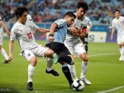半场战报:乌拉圭1