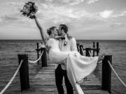 有情人終成眷屬,凱恩與青梅竹馬的愛人凱特完婚