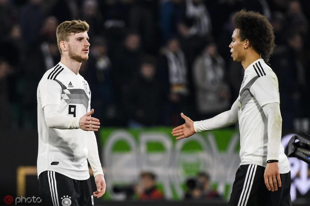 德国天空体育:如果拜仁无法签下萨内,才会考虑维尔纳