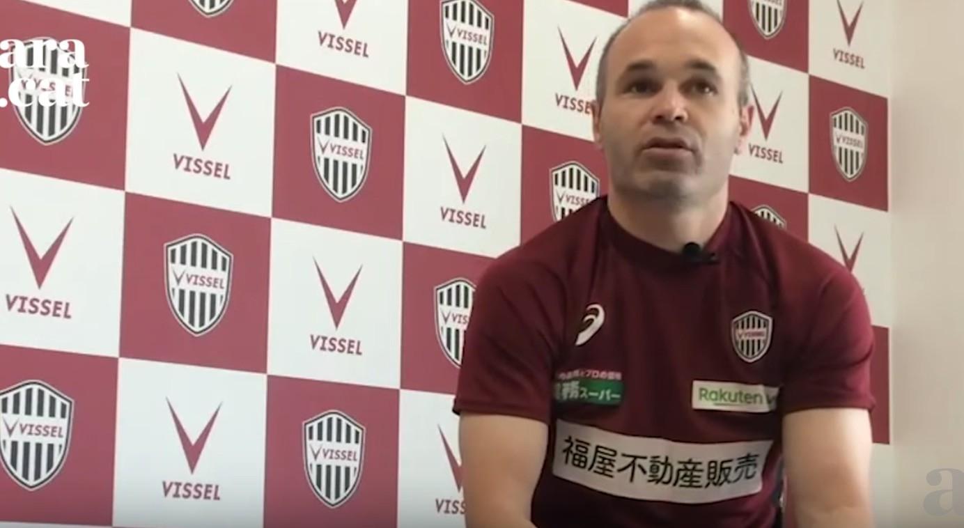 伊涅斯塔:我觉得我将来会当教练;离开巴萨是因为耗尽能量了