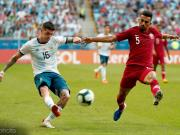 德保罗:今晚会庆祝梅西生日;阿根廷达成了美洲杯第一个目标