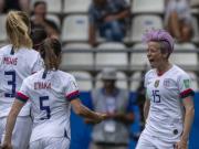 美国女足2-1西班牙女足晋级八强,拉皮诺埃点球梅开二度